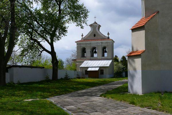 Dzwonnica przy kościele farnym w Solcu nad Wisłą