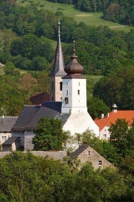 Zabytkowe kościoły w Wojcieszowie