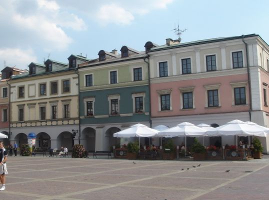 Rynek Wielki, część południowa - ul. Staszica