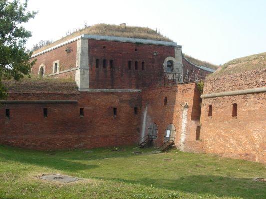 Twierdza w Zamościu - Nadszaniec i bastion VII