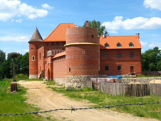 Zamek w Tykocinie (rekonstrukcja) od strony południowo-wschodniej