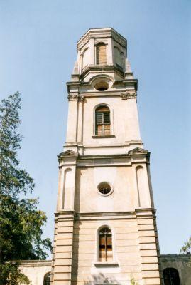 Wieża kościoła poewangelickiego w Mirsku