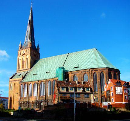 Katedra w Szczecinie - Strona południowa