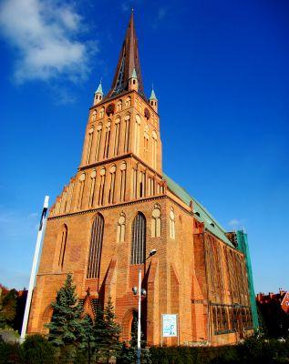Szczecin Katedra św. Jakuba - strona południowa-zachodnia
