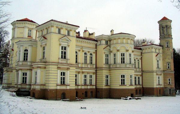 Pałac Lubomirskich w Przemyślu - widok z tyłu
