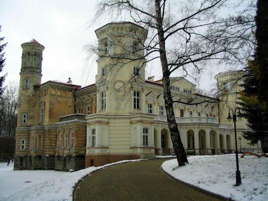 Pałac Lubomirskich w Przemyślu - podjazd