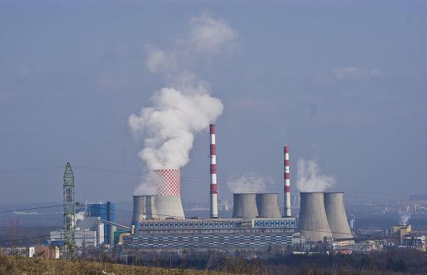 """Elektrownia """"Łagisza"""" w Będzinie"""