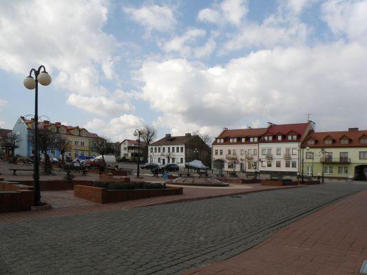 Rynek w Serocku