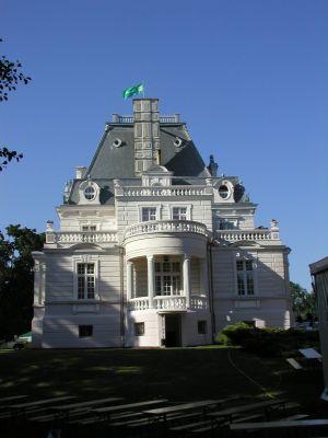 Pałac w Zakrzewie - bok