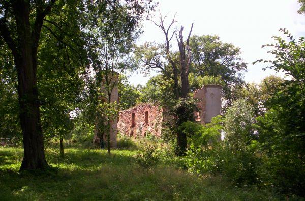 Ruiny zamku w Jakubowie