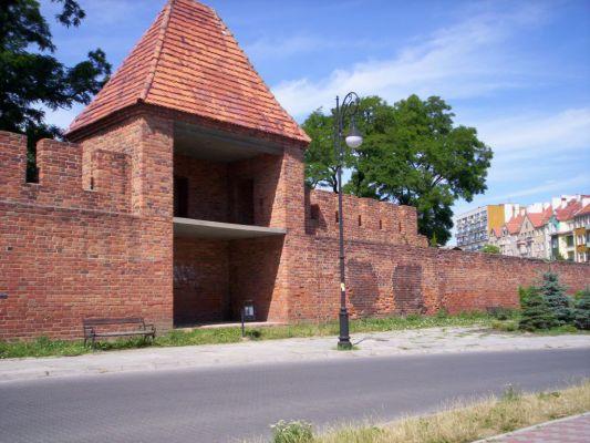 Średniowieczne mury miejskie Głogowa