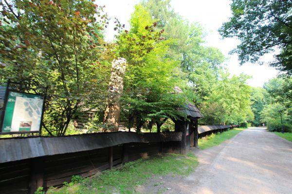 Skansen w Pszczynie - droga do skansenu