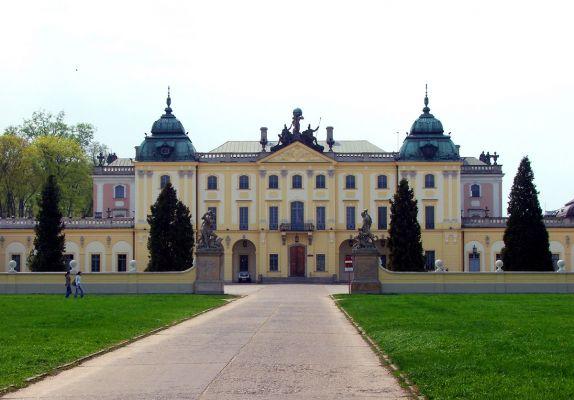 Barokowy Pałac Branickich w Białymstoku
