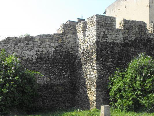 Będzin-XIV wieczne mury miejskie