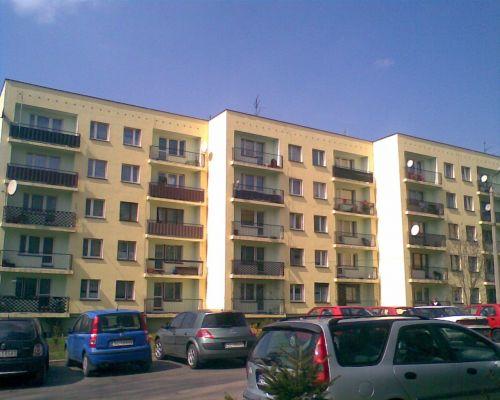 Bloki w w dzielny Rudzy Śląskiej, Rudzie.