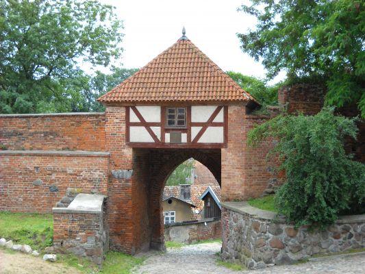 Brama Młyńska w Pasłęku