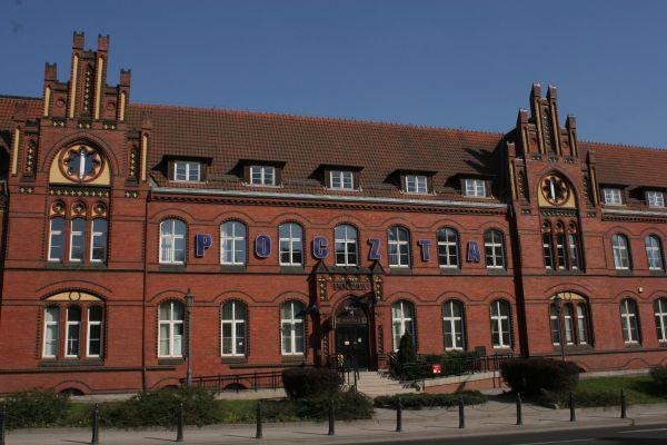 Budynek poczty głównej w Olsztynie