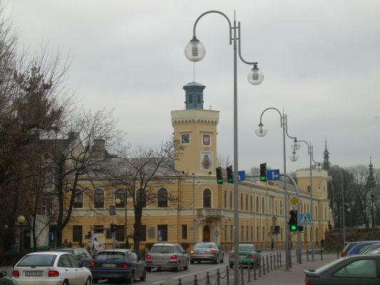 Budynek Ratusza Miejskiego w Radomsku (obecnie Muzeum Regionalne)