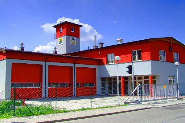 Budynek Strazy Pozarnej w Podlesiu