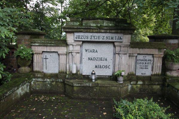 Pszczyna - Cmentarz ewangelicki - grób Loskotów