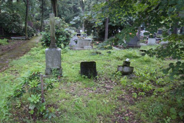 Pszczyna - Cmentarz ewangelicki - nagrobki 2