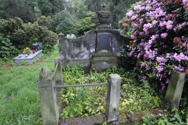 Pszczyna - Cmentarz ewangelicki - nagrobki