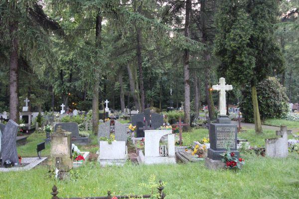 Pszczyna - groby na cmentarzu ewangelickim