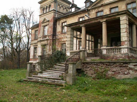 Czerwięcice: Pałac - schody