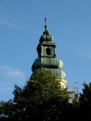 Dąbrówka Kościelna - kościół Wniebowziętej NMP