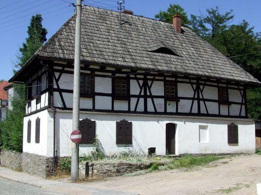 Dawny dom kata  miejskiego w Paczkowie