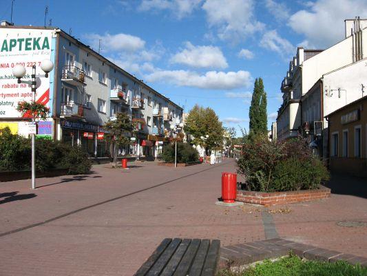 Deptak (ul. 11 listopada) w Grodzisku Mazowieckim
