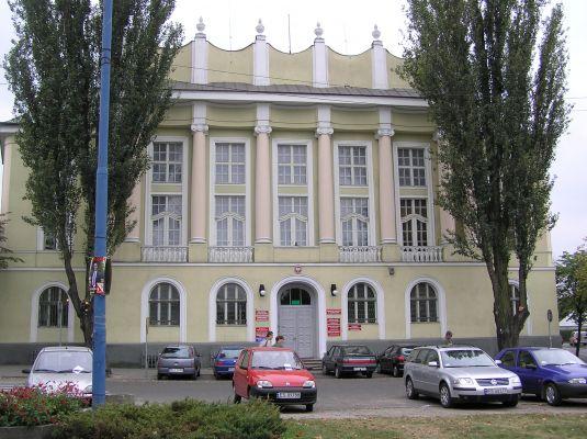 Dom Sejmikowy (siedziba starostwa powiatowego),Skierniewice