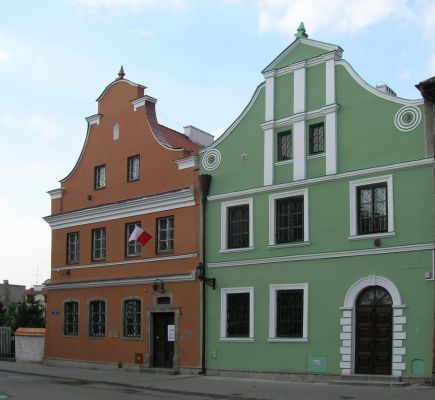 Domy Gąski  i Esterki – obecnie Muzeum Sztuki Współczesnej w Radomiu