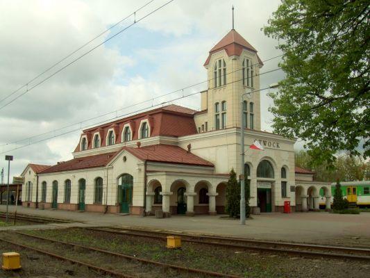 Dworzec kolejowy w Otwocku