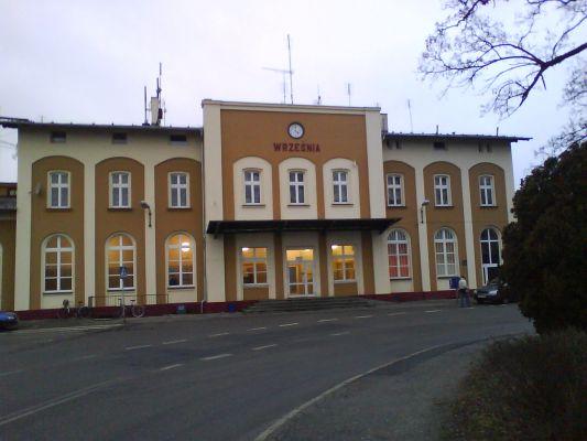 Dworzec we Wrześni