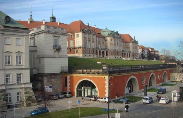 Elewacja Saska - Zamek Królewski w Warszawie