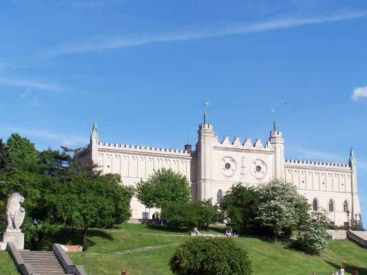 Fasada zamku w Lublinie