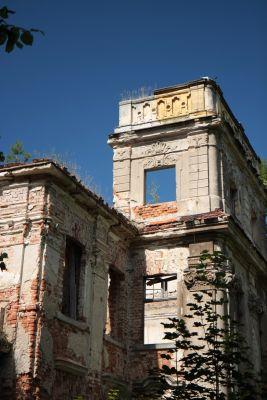Fragment Pałacu w Chróstniku.