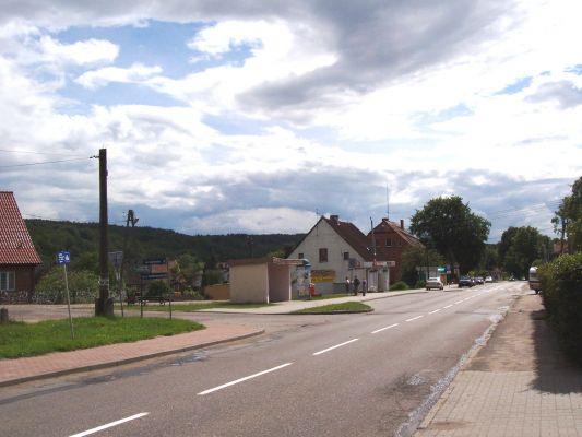 Główna ulica w Przywidzu