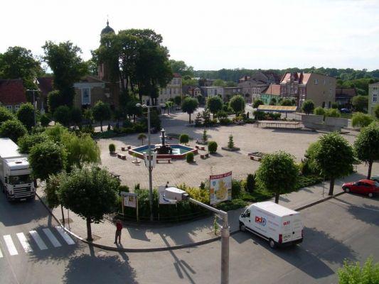 Janowiecki rynek - Plac Wolności