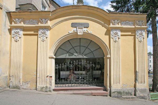 Jedna z kaplic w Wambierzycach
