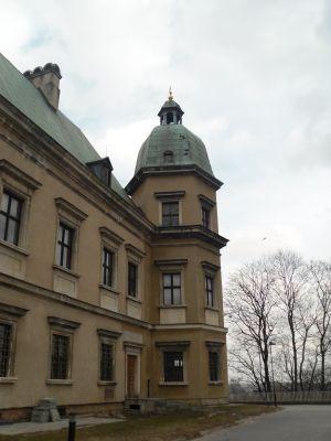 Jedna z wież Zamku Ujazdowskiego
