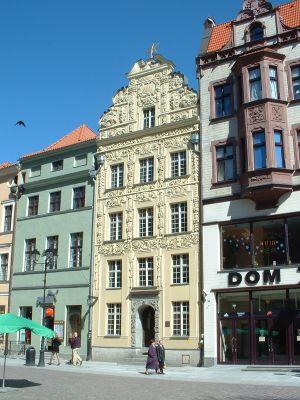 Kamienica Pod Gwiazdą (nr 35) na Rynku Staromiejskim) w Toruniu