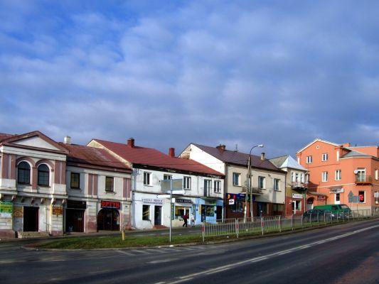 Kamienice przy ul. Krakowskiej w Staszowie