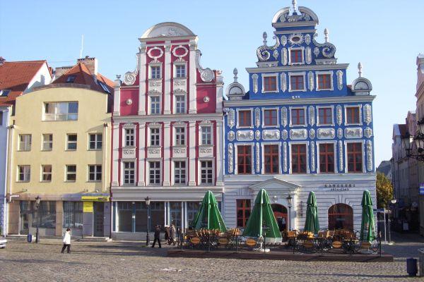 Kamieniczki Starego miasta w Szczecinie