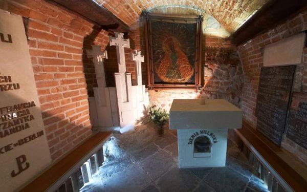 Kaplica Wileńska -kościół jezuitów w Warszawie