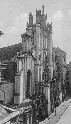 Katedra św. Jana ok. 1900 roku