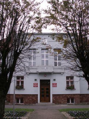 Knurowski ratusz, a zarazem siedziba Rady miasta Knurów