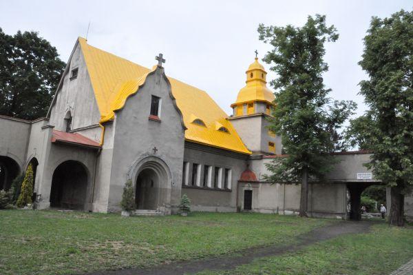 Kościół cmentarny na Nowym Cmentarzu Ewangelickim w Bielsku-Białej