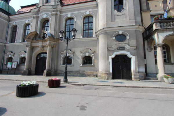 Kościół ewangelicki w Pszczynie - wejście